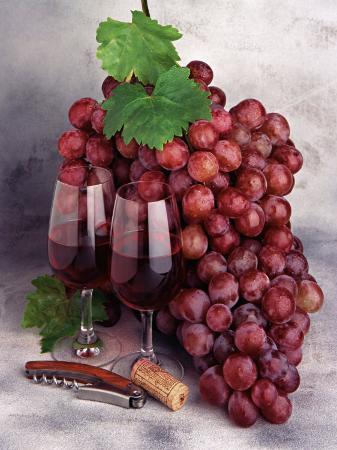 john-james-wood-wine-glasses-and-grapes