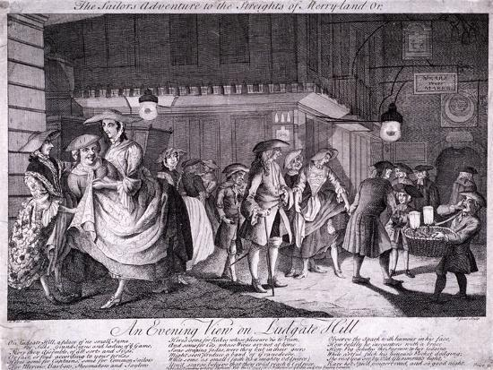 john-june-the-sailor-s-adventure-to-the-streights-of-merryland-or-an-evening-view-on-ludgate-hill-1749
