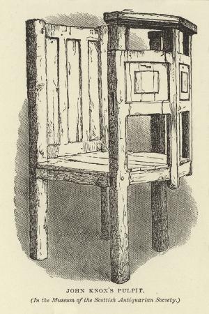john-knox-s-pulpit