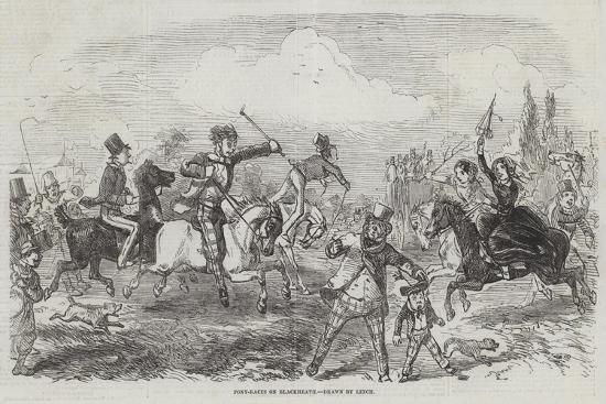 john-leech-pony-races-on-blackheath
