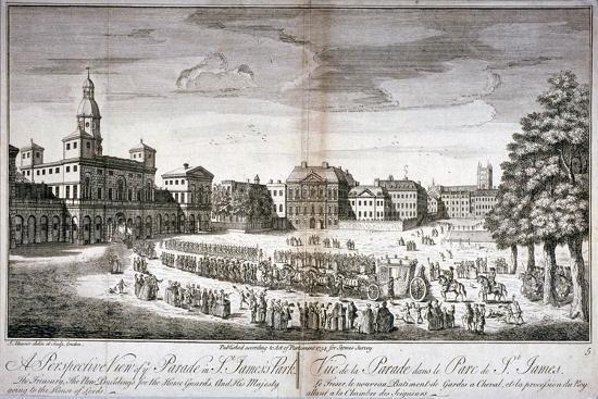 john-maurer-horse-guards-parade-westminster-london-1754