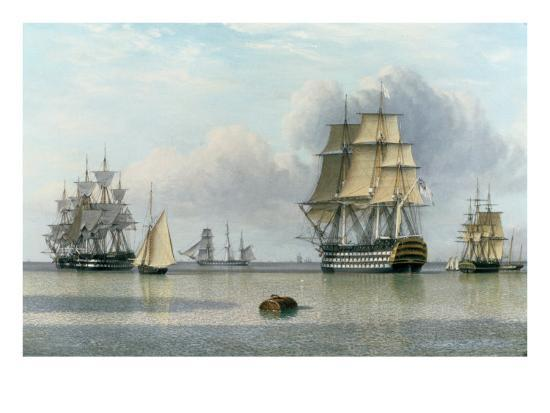 john-of-hull-ward-h-m-s-britannia-and-other-shipping-in-calm-waters