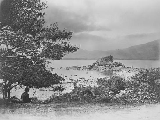 john-payne-jennings-summer-scene-on-the-middle-lake-killarney-1860s