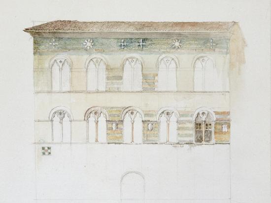 john-ruskin-the-palazzo-gambacorti-pisa-27-30-april-1872-watercolour-over-graphite-on-wove-paper