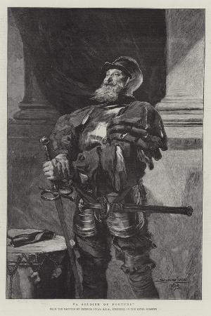 john-seymour-lucas-a-soldier-of-fortune
