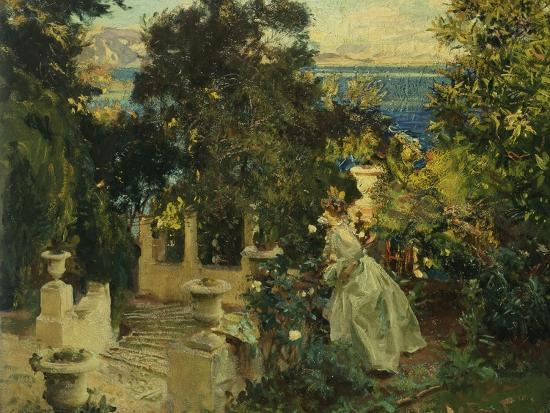 john-singer-sargent-a-garden-in-corfu-1909