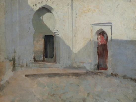 john-singer-sargent-courtyard-tetuan-morocco-1879-80