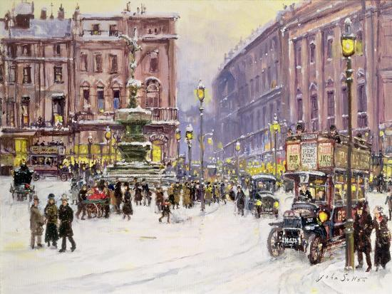 john-sutton-a-winter-s-evening-piccadilly-london
