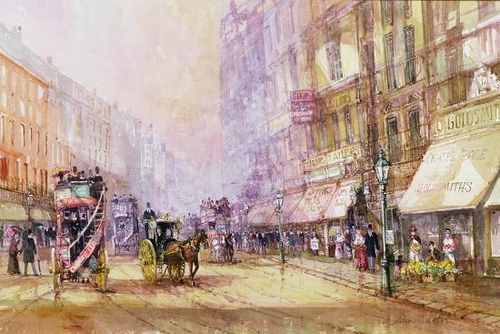 john-sutton-victorian-afternoon-regent-street-c-1885