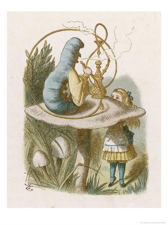 john-tenniel-alice-and-the-caterpillar