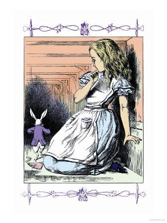 john-tenniel-alice-in-wonderland-alice-watches-the-white-rabbit