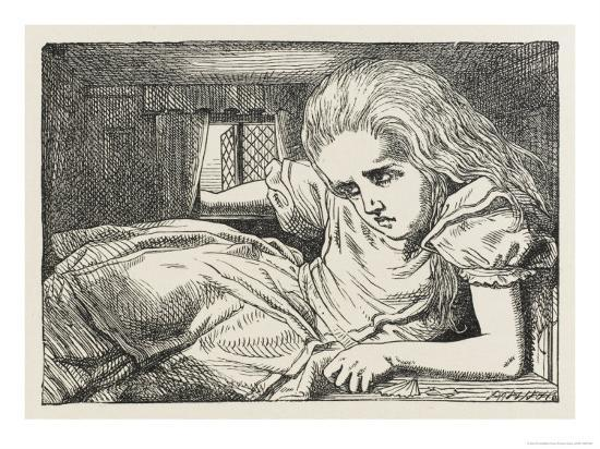 john-tenniel-alice-shrinks-and-stretches-alice-grows-too-big-for-the-house
