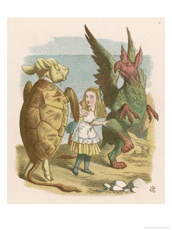 john-tenniel-alice-with-the-mock-turtle-and-the-gryphon