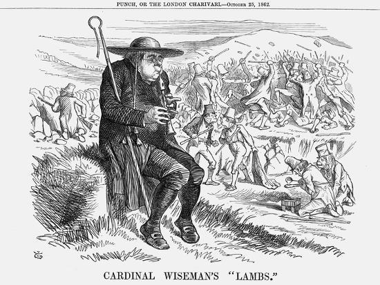 john-tenniel-cardinal-wiseman-s-lambs-1862