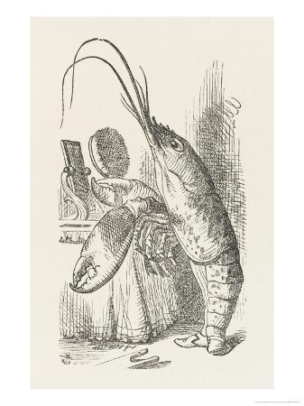john-tenniel-the-lobster-at-his-toilet