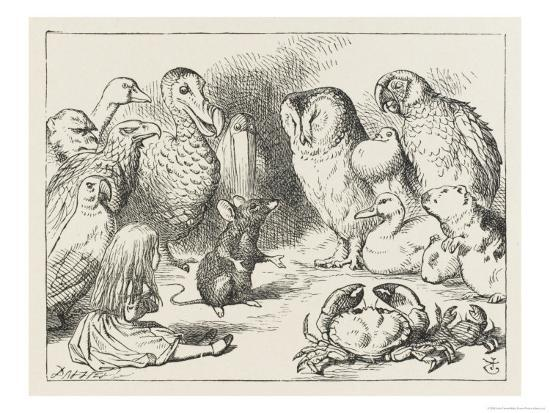 john-tenniel-the-mouse-holds-court