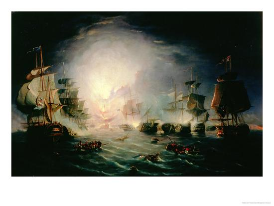 john-thomas-serres-the-blowing-up-of-the-french-commander-s-ship-l-orient-at-the-battle-of-the-nile-1798