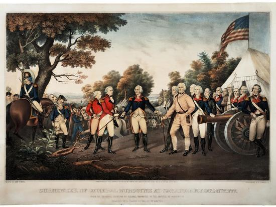 john-trumbull-surrender-of-general-burgoyne-at-saratoga-n-y-oct-17th-1777-new-york-print-made-by-nathaniel
