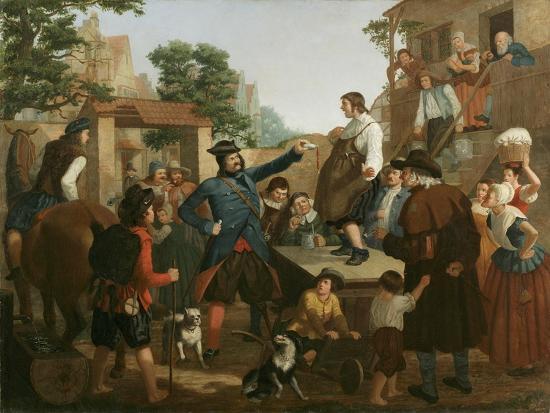 john-whetten-ehninger-peter-stuyvesant-and-the-cobbler-c-1850