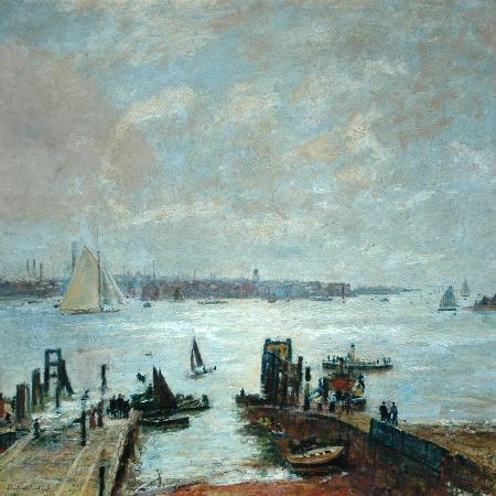 john-william-buxton-knight-portsmouth-harbour-1907