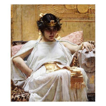 john-william-waterhouse-cleopatra-c-1887