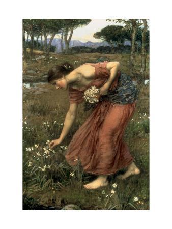 john-william-waterhouse-narcissus-1912