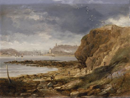 john-wilson-carmichael-shields-from-the-harbour-mouth-1845