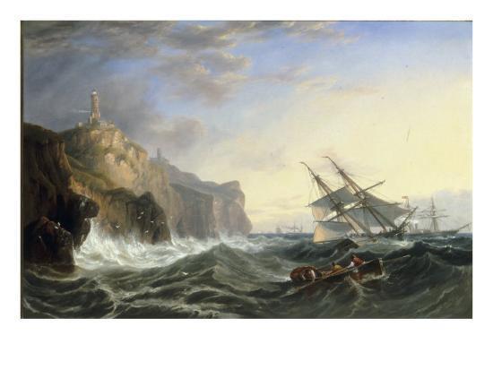 john-wilson-carmichael-shipping-off-the-lizard-1862