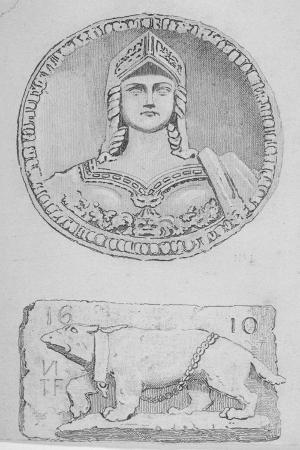 john-wykeham-archer-artefacts-city-of-london-1851