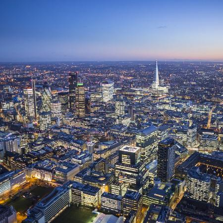 jon-arnold-night-aerial-view-of-the-shard-and-city-of-london-london-england