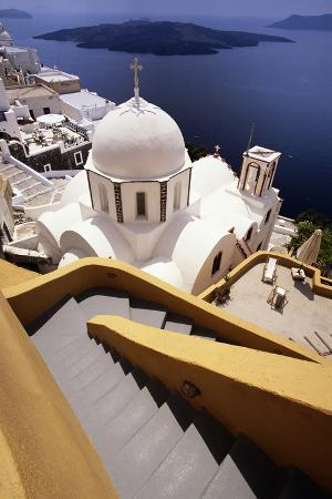 jon-hicks-stairway-and-whitewashed-church
