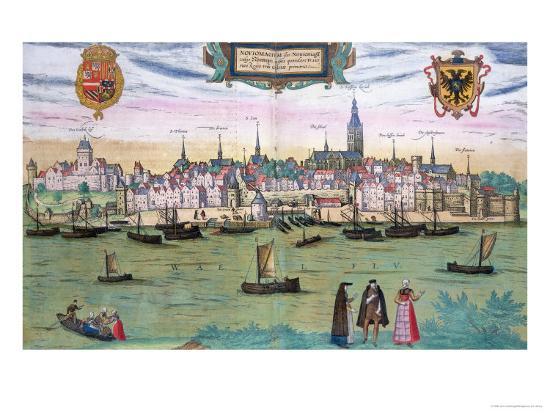 joris-hoefnagel-map-of-nijmegen-from-civitates-orbis-terrarum-by-georg-braun-and-frans-hogenburg-circa-1572