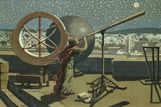 josep-or-jose-planella-coromina-hipparchus-in-the-observatory-in-alexandria
