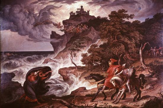 joseph-anton-kock-macbeth-and-the-witches-1835