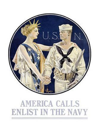 joseph-christian-leyendecker-america-calls-enlist-in-the-navy