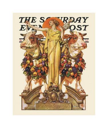 joseph-christian-leyendecker-ceres-and-the-harvest-c-1929