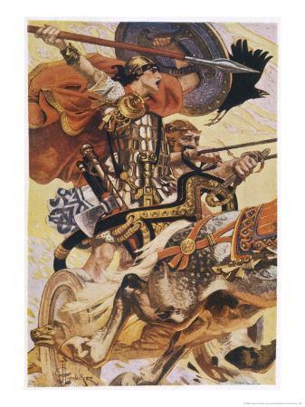 joseph-christian-leyendecker-cuchulain-cu-chulainn-rides-his-chariot-into-battle