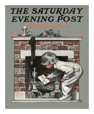 joseph-christian-leyendecker-letter-for-santa-c-1910