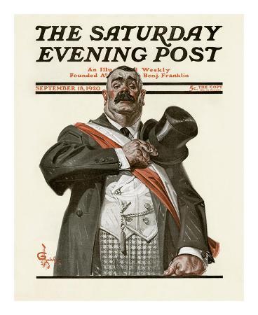 joseph-christian-leyendecker-patriotic-politician-c-1920