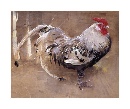 joseph-crawhall-the-spangled-cock