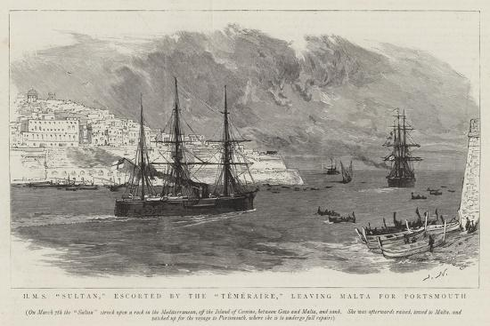joseph-nash-hms-sultan-escorted-by-the-temeraire-leaving-malta-for-portsmouth