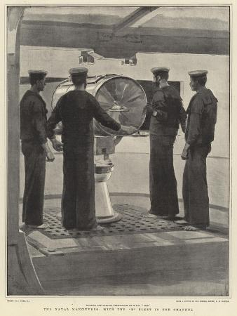 joseph-nash-the-naval-manoeuvres-with-the-b-fleet-in-the-channel
