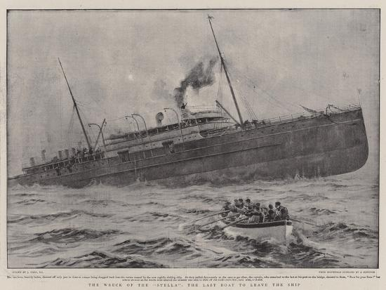 joseph-nash-the-wreck-of-the-stella-the-last-boat-to-leave-the-ship
