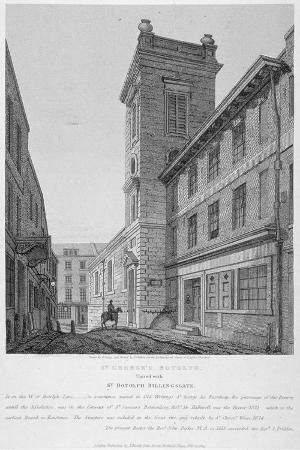 joseph-skelton-church-of-st-george-botolph-lane-at-the-south-east-corner-of-george-lane-city-of-london-1814