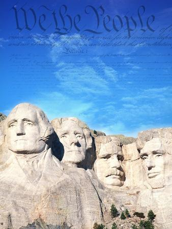 joseph-sohm-preamble-to-us-constitution-above-mount-rushmore