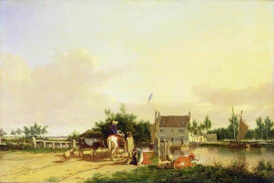 joseph-stannard-buckenham-ferry-on-the-river-yare-norfolk-1826
