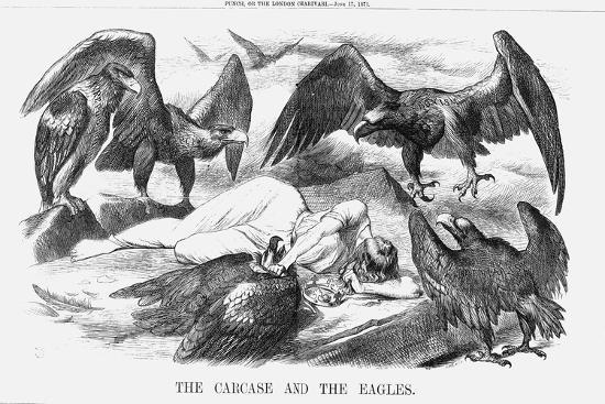 joseph-swain-the-carcase-and-the-eagles-1871