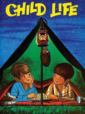 joy-friedman-camping-child-life-august-1971