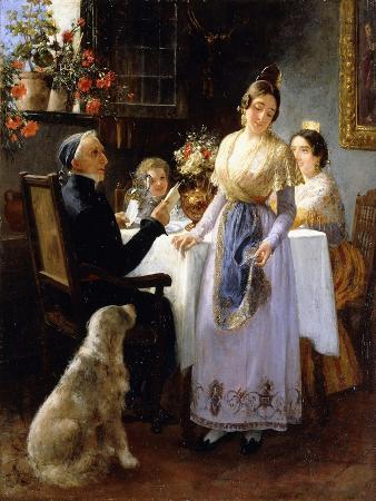 juan-antonio-benlliure-y-gil-the-letter-1897