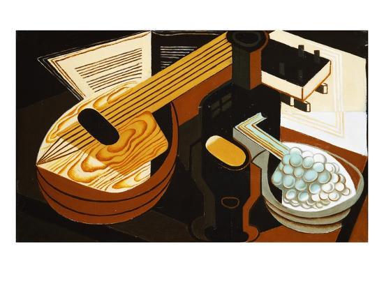 juan-gris-the-mandolin